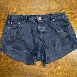 Cotton On The Frayed Mid Rise Shorts